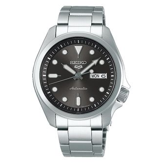 Seiko 5 Sports Men's Stainless Steel Bracelet Watch - Product number 1169548