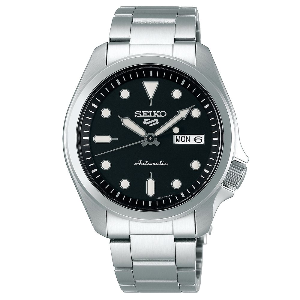Seiko Sports 5 Men's Stainless Steel Bracelet Watch - Product number 1169696
