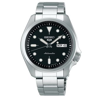 Seiko 5 Sports Men's Stainless Steel Bracelet Watch - Product number 1169696