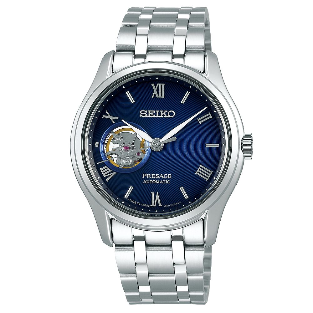 Seiko Presage Men's Stainless Steel Bracelet Watch - Product number 1169858