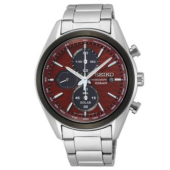 Seiko Macchina Sportiva Men's Stainless Steel Bracelet Watch - Product number 1169882