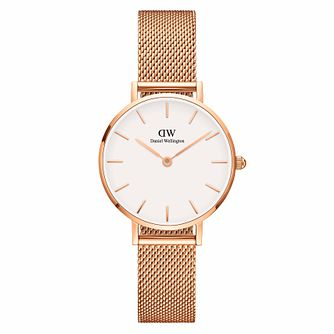 Daniel Wellington Classic Petite Melrose White Dial Watch - Product number 1176552