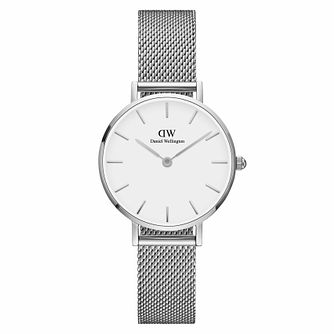 Daniel Wellington Classic Petite Sterling White Dial Watch - Product number 1176560
