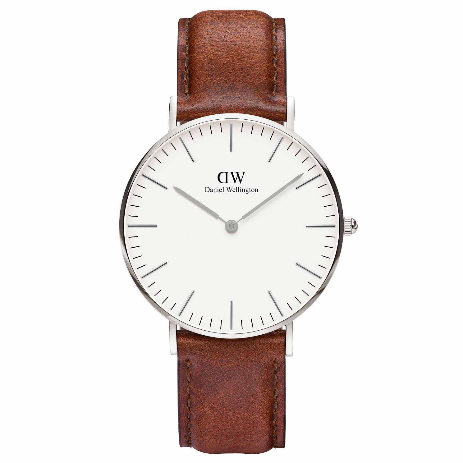 Daniel Wellington Ladies' St Mawes Brown Strap Watch - Product number 1177206