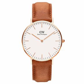 Daniel Wellington Ladies' Classic Durham Rose Gold Watch - Product number 1177222