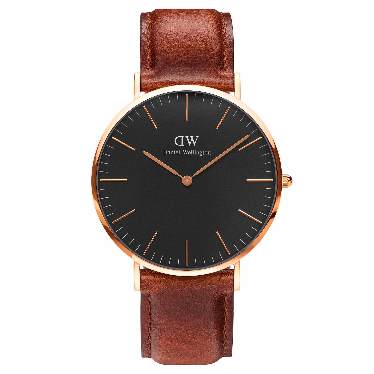Daniel Wellington Men's St Mawes Black Dial Watch - Product number 1177230