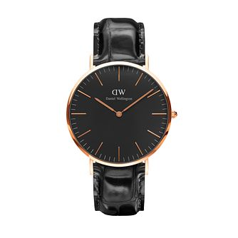 Daniel Wellington Classic Reading Black Dial Watch - Product number 1177257