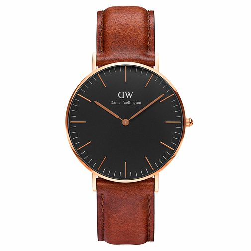Daniel Wellington Classic St Mawes Black Dial Watch - Product number 1177273