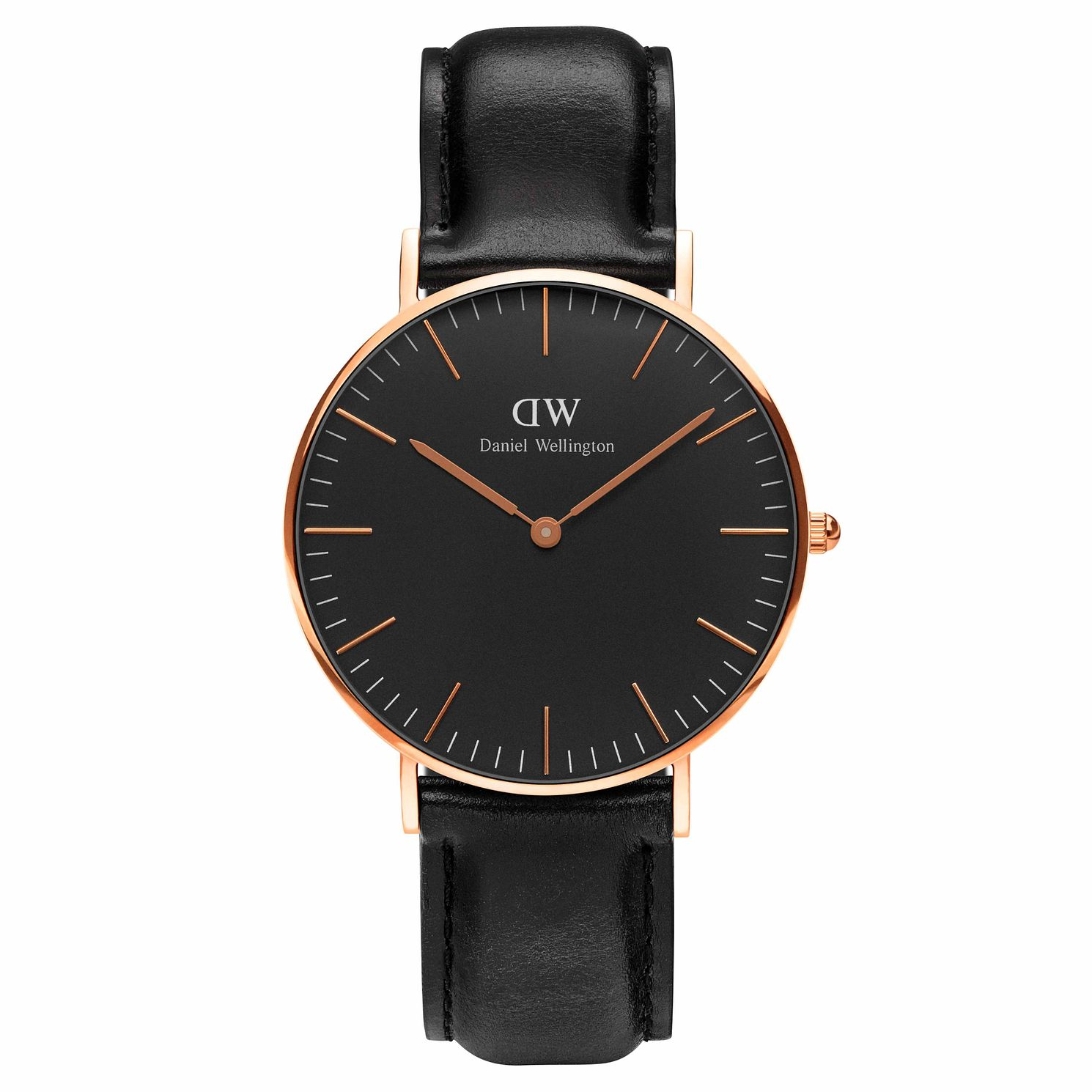 Daniel Wellington Classic Sheffield Black Dial Watch - Product number 1177281