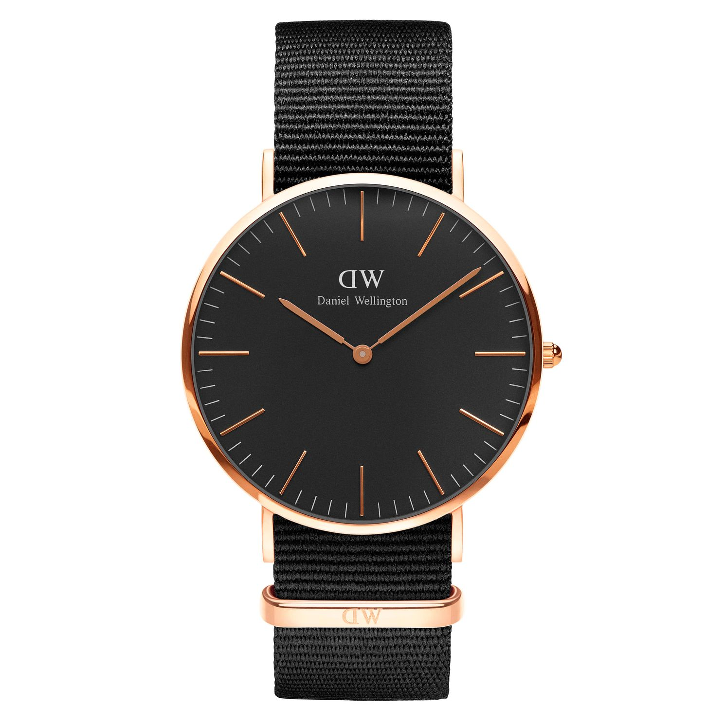 Daniel Wellington Classic Cornwall Black Dial Watch - Product number 1177303