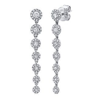 Shy Creation Eden 14ct White Gold 0.72ct Diamond Earrings - Product number 1178792