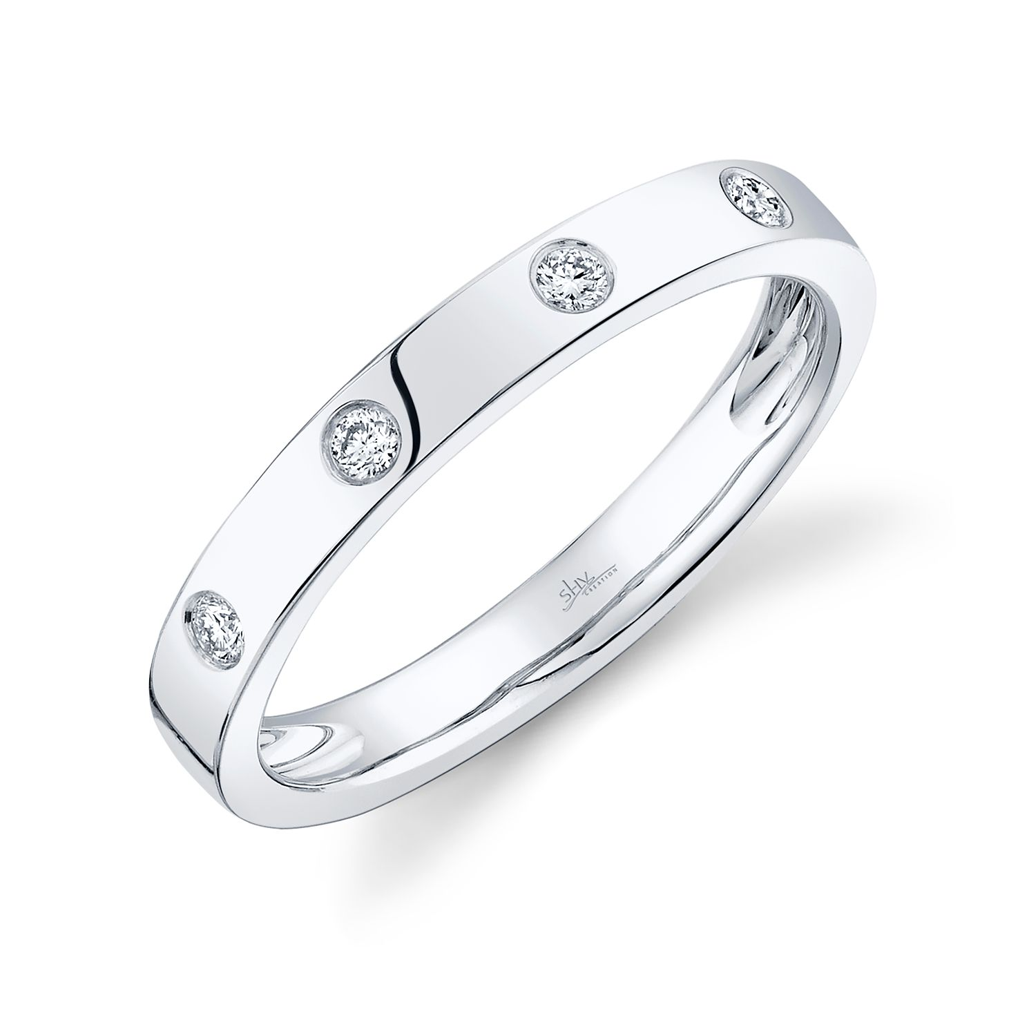 Shy Creation Kate 14ct White Gold Diamond Ring - Product number 1179640