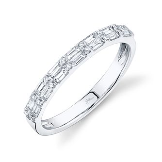 Shy Creation Kate 14ct White Gold 0.28ct Diamond Ring - Product number 1180037