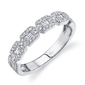 Shy Creation Kate 14ct White Gold 0.38ct Diamond Ring - Product number 1180789