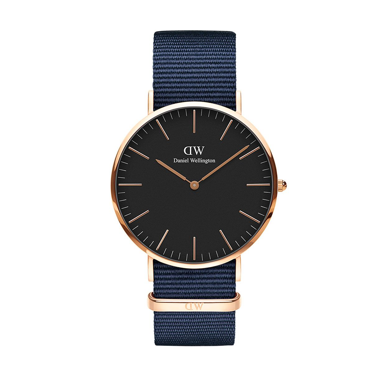 Daniel Wellington Men's Classic Bayswater Black Dial Watch - Product number 1181653