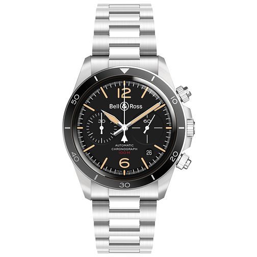 Bell & Ross Men's Stainless Steel Bracelet Watch - Product number 1181998