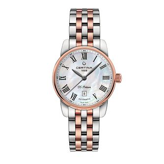 Certina DS Podium Ladies' Two-Tone Bracelet Watch - Product number 1182153