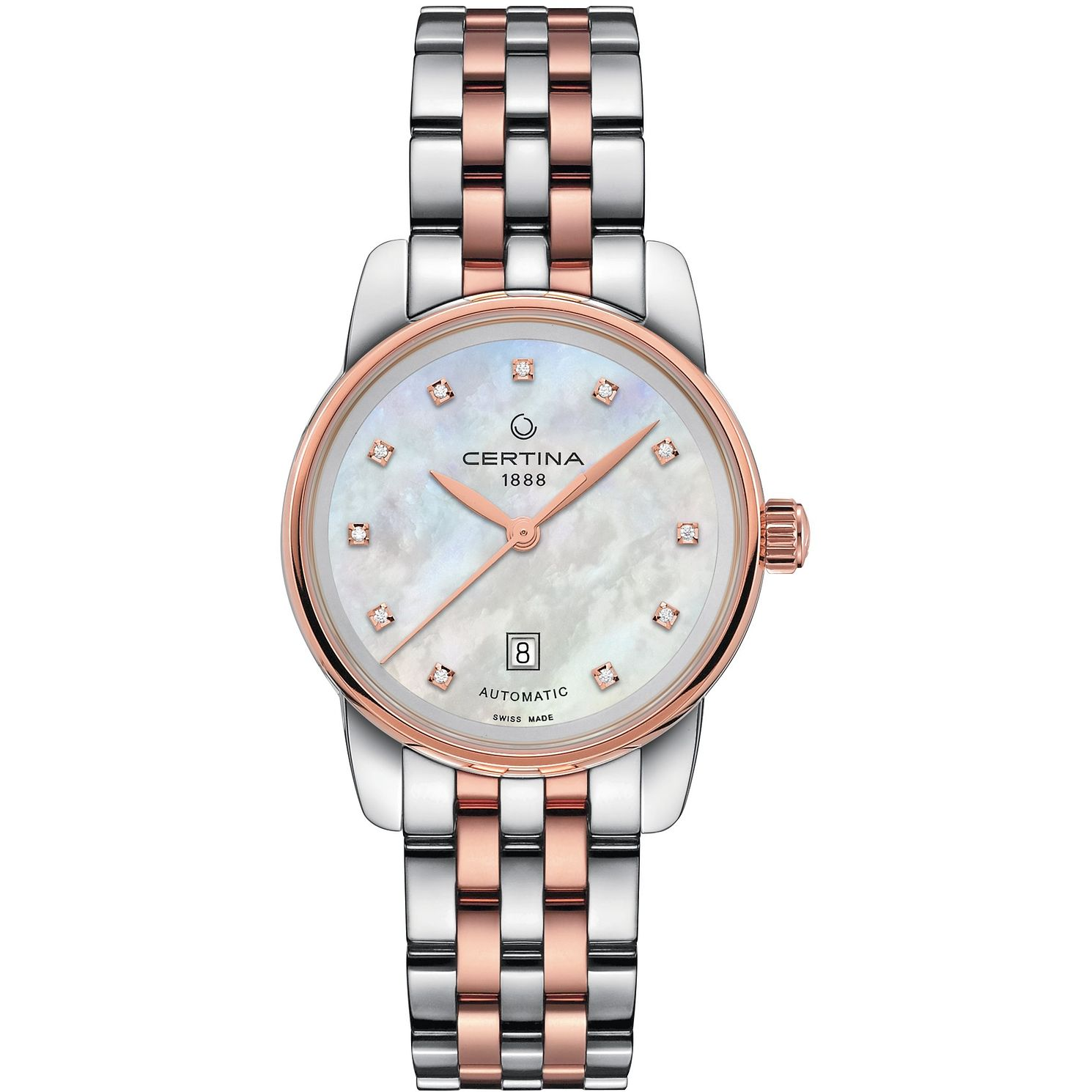 Certina Podium Ladies' Two-Tone Steel Bracelet Watch - Product number 1182161