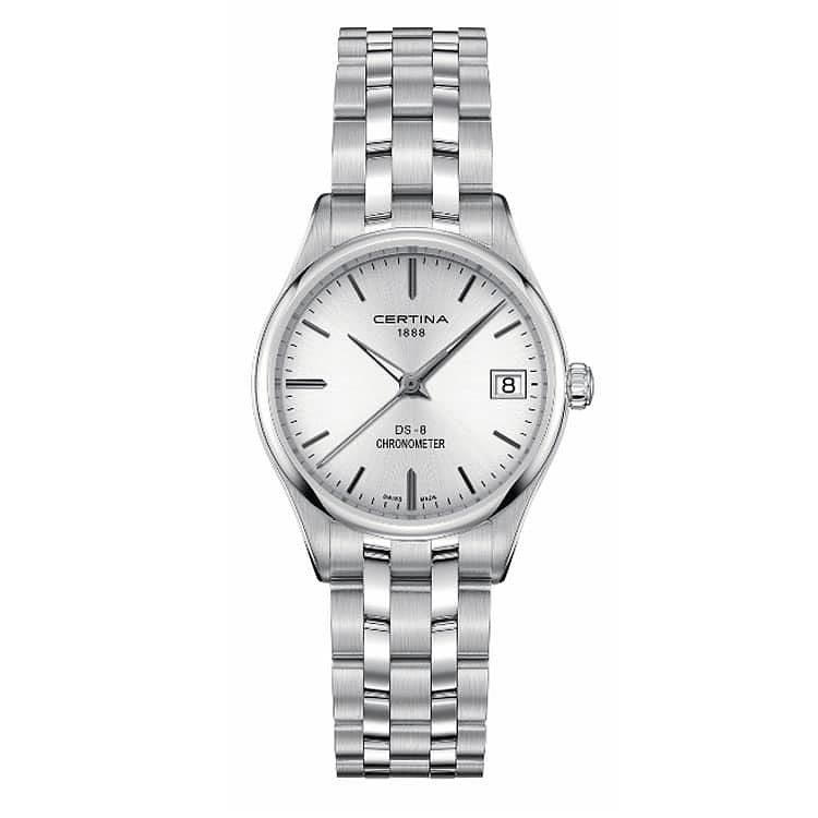 Certina Ladies' Stainless Steel Bracelet Watch - Product number 1182188