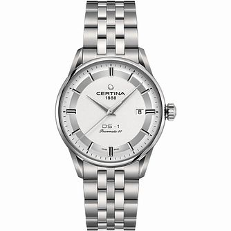 Certina Powermatic Men's Stainless Steel Bracelet Watch - Product number 1182234