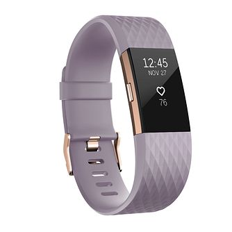 Fitbit Charge 2 Special Edition Lavender/ Rose Gold Small - Product number 1183842