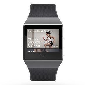 Fitbit Ionic Charcoal/Grey Smart Watch - Product number 1184318