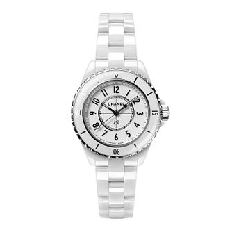Chanel J12 Ladies' White Ceramic Bracelet Watch - Product number 1184342
