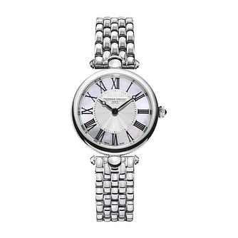 Frederique Constant Classic Art Deco Steel Bracelet Watch - Product number 1184849