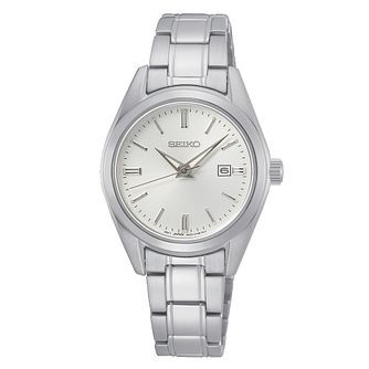 Seiko New Link Ladies' Stainless Steel Bracelet Watch - Product number 1184938