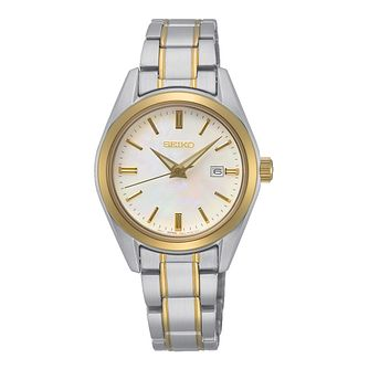 Seiko New Link Ladies' Two Tone Bracelet Watch - Product number 1184946