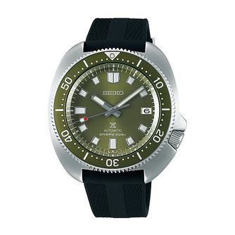 Seiko Prospex Cpt. Willard Black Silicone Strap Watch - Product number 1184997