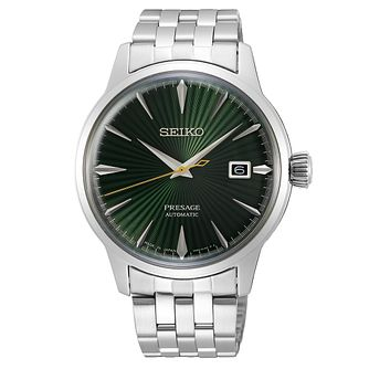 Seiko Presage Mockingbird Stainless Steel Bracelet Watch - Product number 1185063