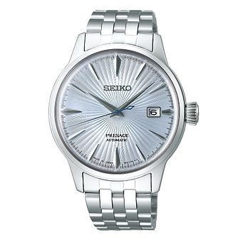 Seiko Presage Skydiving Men's Stainless Steel Bracelet Watch - Product number 1185071