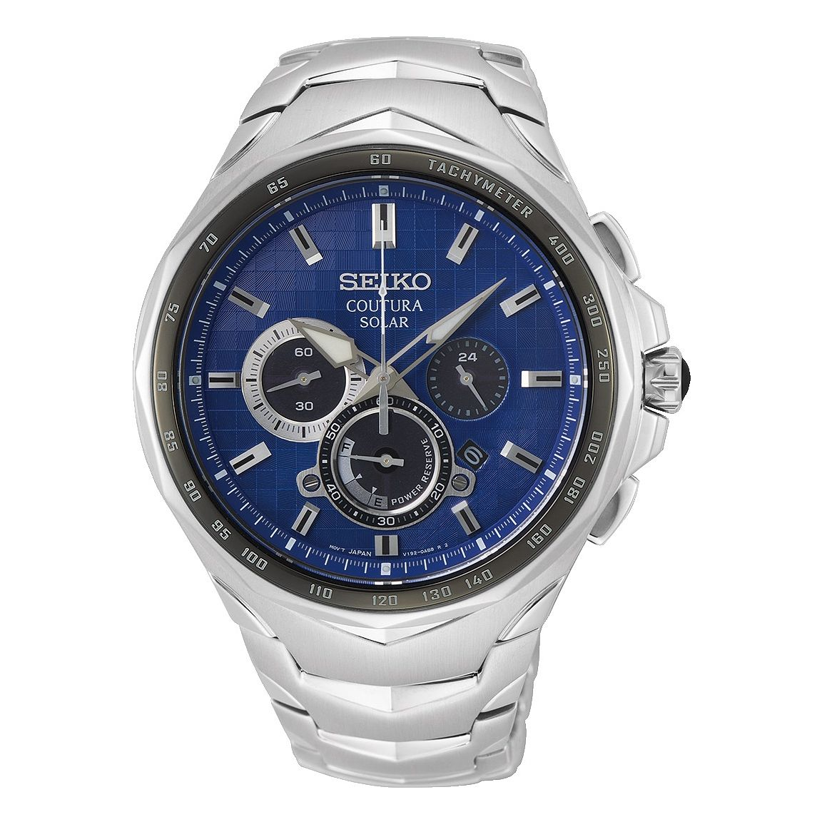 Seiko Coutura Chronograph Stainless Steel Bracelet Watch - Product number 1185136