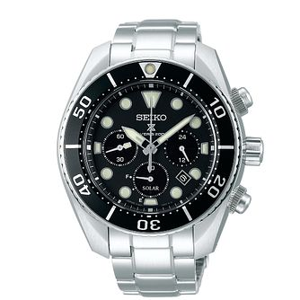 Seiko Prospex Solar Sumo Stainless Steel Bracelet Watch - Product number 1185144