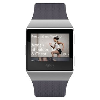 Fitbit Ionic Grey/Silver Smart Watch - Product number 1185268
