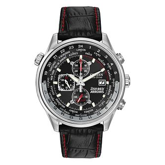 Citizen Red Arrows Black Leather Strap Chronograph Watch - Product number 1185314
