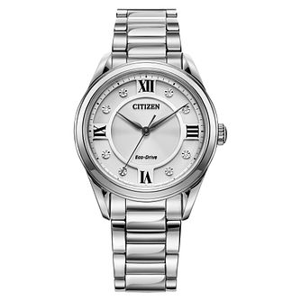 Citizen Arezzo Ladies' Stainless Steel Bracelet Watch - Product number 1185322