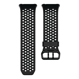 Fitbit Ionic Sport Band Black Gray Large - Product number 1185446