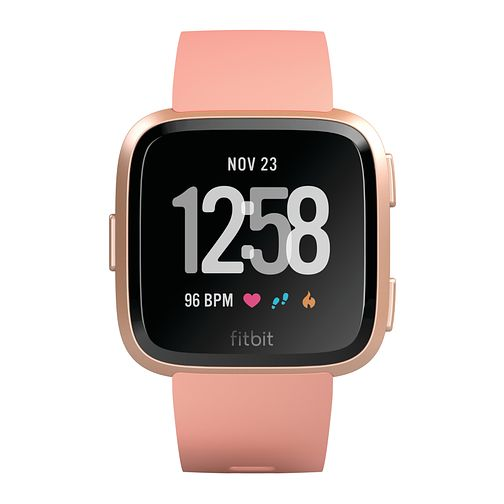 Fitbit Versa Peach/Rose Gold Smart Watch - Product number 1185489
