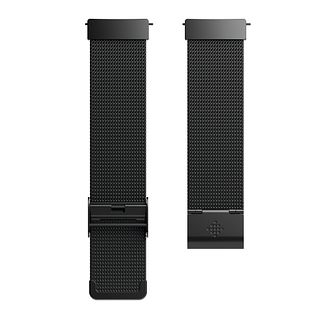 Fitbit Versa Mesh Band Black Stainless - Product number 1185683
