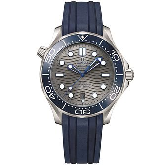 Omega Seamaster Diver Men's Blue Strap Watch - Product number 1185896