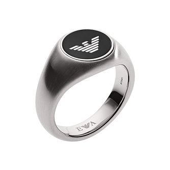 Emporio Armani Men's Stainless Steel Ring - Product number 1186396