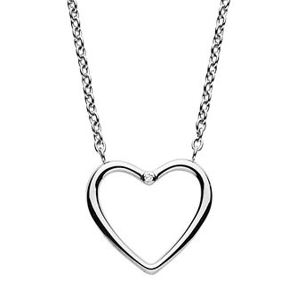 Skagen Katrine Ladies' Stainless Steel Diamond Heart Pendant - Product number 1186477