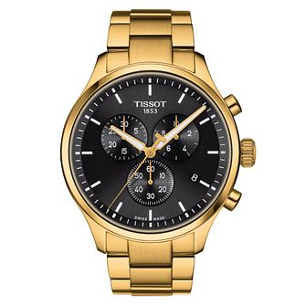 Tissot Chrono XL Classic Yellow Gold Tone Bracelet Watch - Product number 1187724