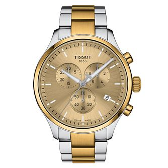 Tissot Chrono XL Classic Men's Two Tone Bracelet Watch - Product number 1187732