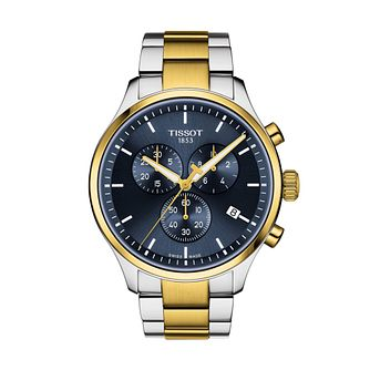 Tissot Chrono XL Classic Men's Two Tone Bracelet Watch - Product number 1187740