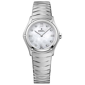 Ebel Sport Classic Ladies' Stainless Steel Bracelet Watch - Product number 1188372