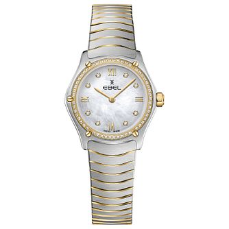 Ebel Sport Classic Ladies' Two-Tone Bracelet Watch - Product number 1188380