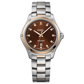 Ebel Discovery Ladies' Two-Tone Bracelet Watch - Product number 1188399